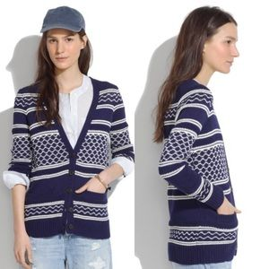 Madewell Stitchway Cardigan A1331 Sweater Small